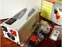 24v sterling combi q inverter 1600w with built in battery charger new in box