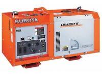 Kubota diesel generator 11 K