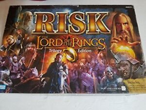RISK BOARD GAME - LORD OF THE RINGS TRILOGY ED.