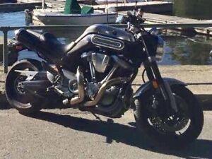 Moto incroyable, rare et unique - Yamaha MT 01