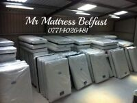 🛎 MR MATTRESS BELFAST ~ PLATINUM TOP GRADE ~ POCKET SPRUNG , MEMORY & PILLOW TOP MATTRESSES