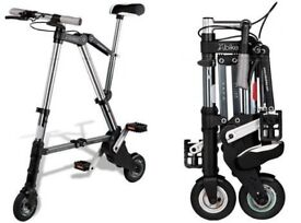 """A-Bike - 8"""" mini Lightweight Folding Bicycle - Only £65"""