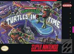 Turtles In Time Super Nintendo conter Final Fantasy 2 ou 3