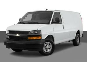 Moving to Calgary? Cargo van available on February 28th.