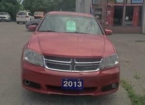 2013 Dodge Avenger  SXT, 4 cyl,clean history,financing available