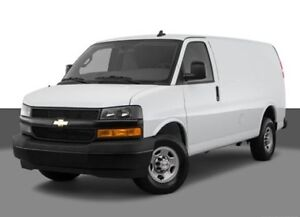 Moving to Edmonton? Cargo van available on February 26th. $250.