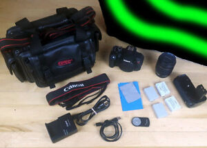 Canon Rebel T5i EOS Camera Bundle! Lots of Extras