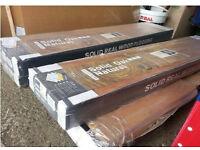 4 x Packs of Solid Oak Natural Wood Flooring
