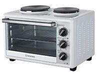 New Cookworks Mini Oven with Hob 28L Original Price £85 Can Post for charges