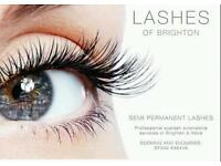 Semi- permanent individual eyelash extensions. Fully qualified & insured.over 7 years experiance.
