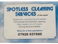 Spotless Cleaning Services of Harrogate.