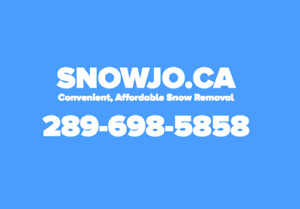SNOW REMOVAL BOOK AND PAY ONLINE - LAST CHANCE!