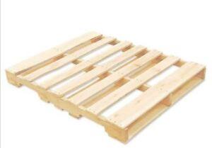1 palette de bois a donner