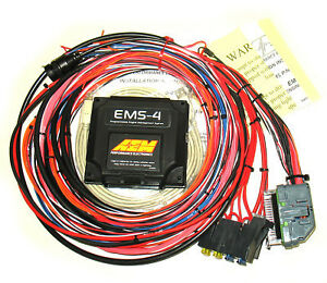 AEM EMS 4 UNIVERSAL ECU ENGINE SYSTEM MANAGEMENT W 96
