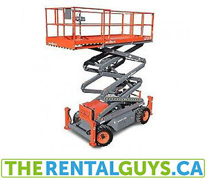 Scissor Lift Rentals ** FREE DELIVERY & PICKUP**  In Calgary