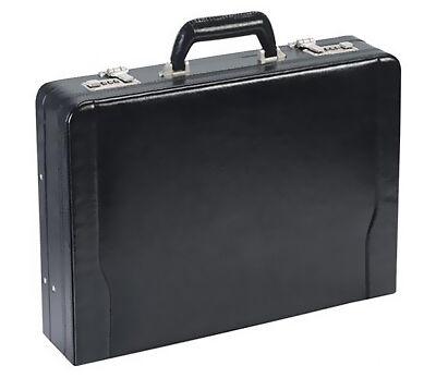 Solo Leather 16 inch Laptop Attache Briefcase