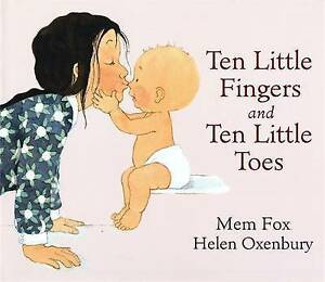 TEN LITTLE FINGERS AND TEN LITTLE TOES Hard Cover - New