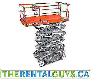 SkyJack Scissor Lifts Free Delivery