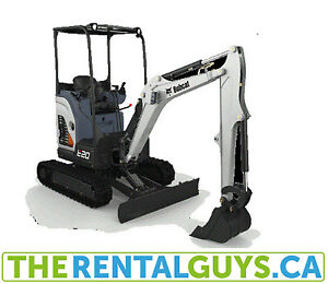 Excavator for Rent Free Delivery CALGARY