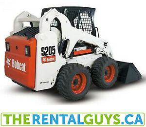 Bobcat Rentals - Skid Steer Free Delivery Calgary