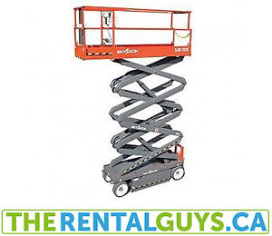 Scissor Lift Rentals Free Delivery & Pickup
