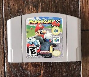 Mario Kart 64 in VERY GOOD COND for N64 Nintendo 64! AUTHENTIC &
