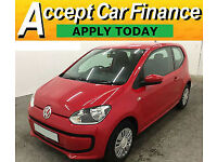 Volkswagen up! 1.0 Move Up FINANCE OFFER FROM £31 PER WEEK!