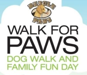 Walk for Paws (Pooches in the Park) Sat. Sept. 10th