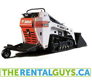 "Bobcat Mt55 Minitrack C/w 36"" Tooth Bucket Rental Free Delivery"