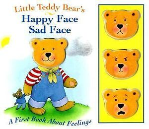 Adults gt see more little teddy bear s happy face sad face a f