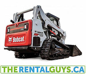 Bobcat Rentals - Compact Track Loader Free Delivery