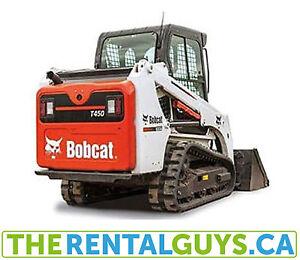 Bobcat Rentals - Compact Track Loader Rental Free Delivery