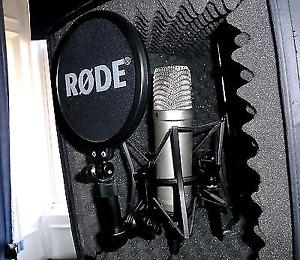 Rode nt1-a condenser cardiod studio microphone