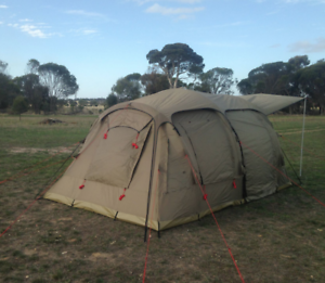 Tent (Inflatable) 6 person Darche AirVolution Kiara Swan Area Preview