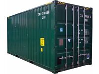 CSG Storage - Self Storage 20 ft Shipping Container (160 sq ft) (No VAT to pay)