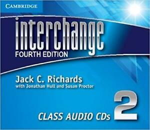 Interchange Level 2 Class Audio CDs 3 4th Edition