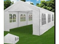 Marquee 6x4 metres, originally cost around 300 pounds - used 3 times need the space so up for sale
