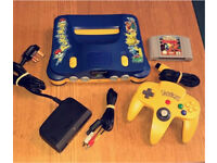 Nintendo 64 Pokemon Edition - Mint - Limited Edition