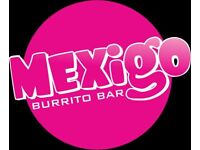 Burrito Rollers needed for the Number One Burrito Bar in Bournemouth