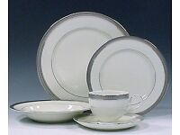 Mikasa Fine China Dinnerware - Palatial Platinum range - 76 pieces (includes 13 place settings)