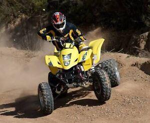 Wanted 400cc or 450cc sports quad Suzuki Honda Yamaha Kawasaki Polaris Medowie Port Stephens Area Preview