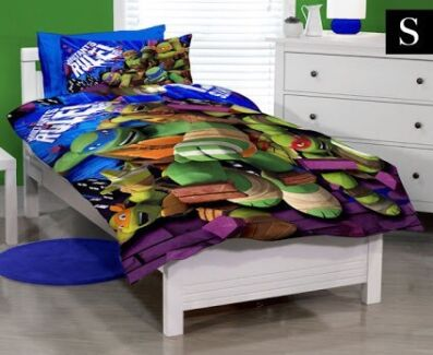 Tmnt single bed quilt set new  Shepparton 3630 Shepparton City Preview