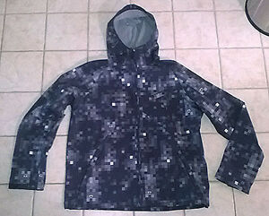 Men's FireFly Hooded Shell Jacket with Fleece Lining