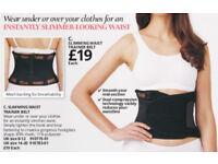 Slimming waist trainer belt