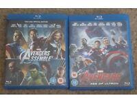 Avengers blu rays
