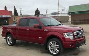 2013 Ford F-150 SuperCrew Limited Fully Loaded