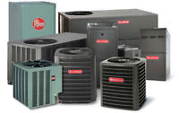 RENT TO OWN FURNACE & AC - GAUARNTEED APPROVAL +2000 rebates