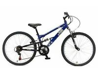 "(2710) 24"" 12"" APOLLO SANDSTORM BOYS GIRLS CHILD MOUNTAIN BIKE BICYCLE Age: 8-10, Height: 127-142 cm"