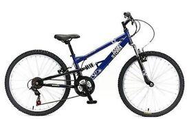 "(2710) 24"" 12"" APOLLO SANDSTORM BOYS GIRLS CHILD MOUNTAIN BIKE BICYCLE Age: 8-10, Height: 127-142 cm"