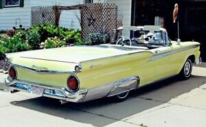 FOR SALE: 1959 FORD GALAXIE SKYLINER RETRACTABLE HARD TOP